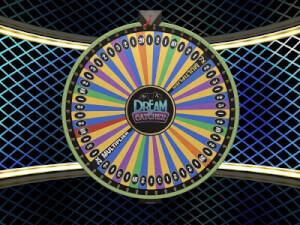 zet je geld in op het money wheel